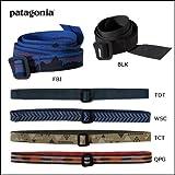 パタゴニア(patagonia) / <br/>ザックのハーネスみたいな感じで、ただ通すだけの簡単な造りのベルトです。 金具部分は恐らくアルミで、ベルト幅は3センチあります。 かなり強度は有りそうです。 最小は鉛筆位の細さまで絞れ、最大は35センチ位の丸太まで留めれます。 通常は普通にズボンのベルトとして使用し、緊急時に何か縛るのに使ったりできます。   お気に入り: 5 デザイン: 5 耐久性: 5 携帯性: 5 コスパ: 4