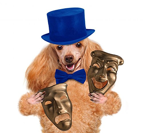 Wallmonkeys WM311584 Dog C Theatrical Mask Peel and Stick Wall Decals (24 in W x 22 in H)