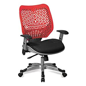 Ventilated Mesh And Plastic Ergonomic Task Chair Office Products