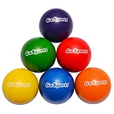 Picture Of <h1>GoSports Elephant Skin Dodgeball Set with Mesh Carry Bag (Set of 6), 6.25&#8243;</h1>