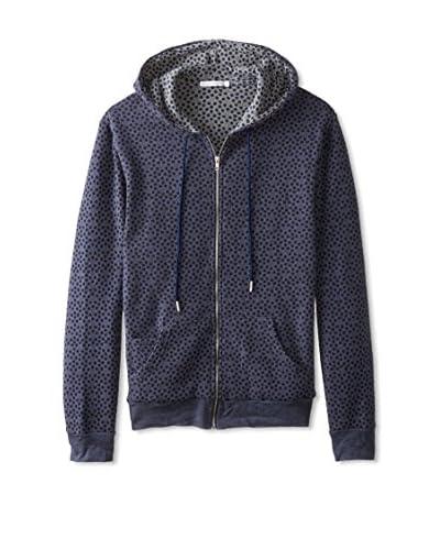 Alternative Men's Fleece Lined Zip Front Hoodie