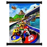 Super Mario Kart Wii Game  Wall Art Poster