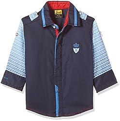 Seals Boys' Shirt (AM8117_1_NAVY_10)