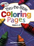 Thru-the-Bible Coloring Pages: Ages 3-6 (Heartshaper)