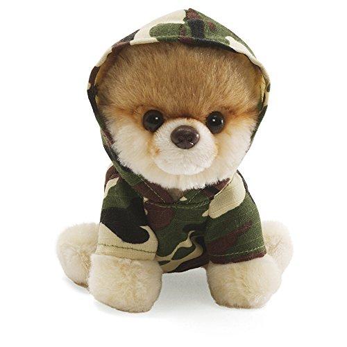 12.5cm Itty Bitty Boo Camouflage Hoodie Soft Toy 4033195 By Gund