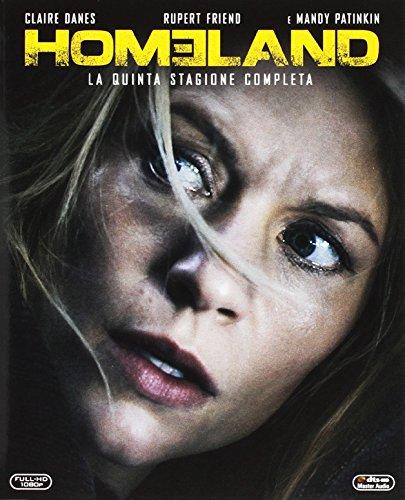 homeland - season 5 (3 blu-ray) box set BluRay Italian Import