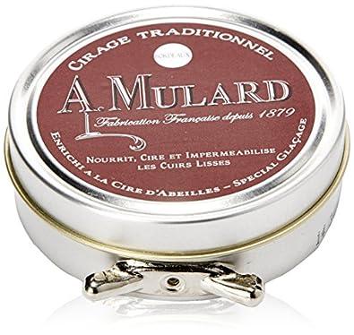 Cirage Traditionnel - Fabrication Française - Pour Cuirs Lisses - Coloris Bordeaux