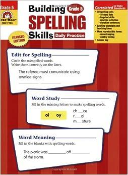 evan moor spelling grade 5 pdf