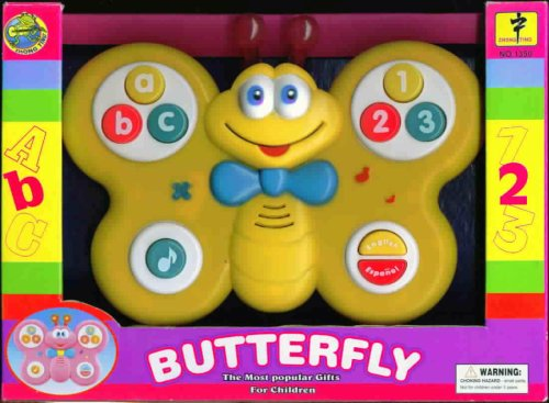 Butterfly ABC 123 - Buy Butterfly ABC 123 - Purchase Butterfly ABC 123 (Zhong Ting, Toys & Games,Categories,Electronics for Kids,Learning & Education,Toys)