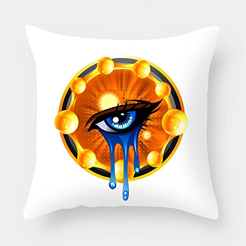 Beautfuldecor Home Decoration Watering Eyes Pillowcase 20X20 InchThrow Cushion Cover