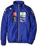 ヤマハ(YAMAHA) ファクトリーレーシング オフィシャルチームウェア MotoGP コンバーチブルジャケット ブルー Lサイズ Q5D-DCT-Y23-00L