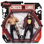 TNA Wrestling Cross the Line Two Figu...