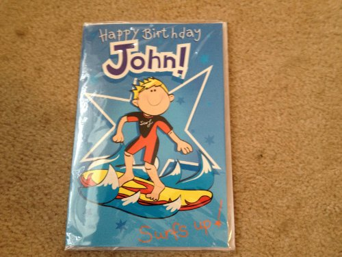 Happy Birthday John - Singing Birthday Card - 1