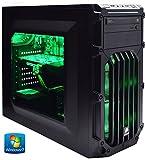 ADMI GAMING PC (Intel Core I7 4790 3.6Ghz Quad Core CPU Processor, NVIDIA GTX 960 2GB DDR5 Graphics Card, HDMI, USB3.0, 8GB 1600MHz DDR3 RAM, 1TB Hard Drive, 24x DVDRW, Corsair PSU, Corsair SPEC-03 Green Gaming PC Case, pre-installed with Windows 7)