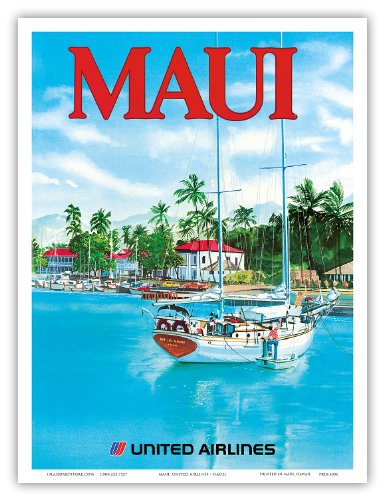 united-airlines-maui-sail-boat-ahe-lau-makani-there-is-a-breath-at-the-wharf-lahaina-harbor-vintage-