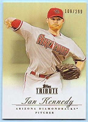 Ian Kennedy 2012 Topps Tribute Bronze #39 - 109/299 - Arizona Diamondbacks