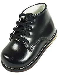 Josmo - Baby Walker Leather Dress Shoe, Black 38207-3.5MUSInfant