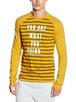CMP Campagnolo Camiseta Manga Larga 3S47657 (Mostaza)
