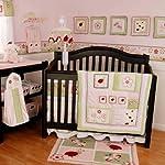 Lady Bug 6-Piece Baby Crib Bedding Set