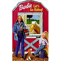 Barbie Let's Go Riding! (Barbie Glittery Window Books)