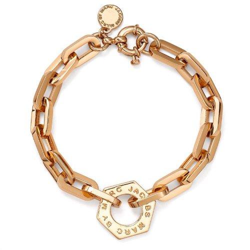 Marc by Marc Jacobs Mini Link Bolt Bracelet, Rose Gold