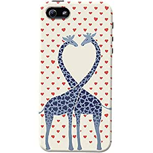 DailyObjects Giraffes in Love Case For iPhone 5/5S