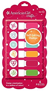 American Girl Crafts Doodles Self Inking Stamps