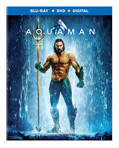 Blu-ray : Aquaman (With DVD, Digital Copy, 2 Pack)