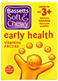Bassetts Soft and Chewy Early Health Vitamins ABCD and E Age 3+ Orange - Pack of 30 Pastilles