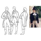 1795-1820 Men's Tailcoat Pattern