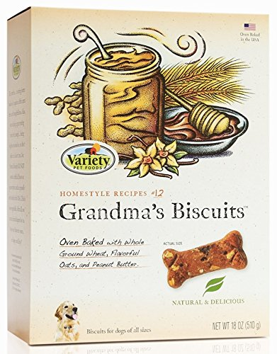 Homestyle Recipes Natural Dog Biscuits