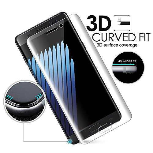 D-kandy 3D Premium Quality Full Transparent Edge To Edge 9H Hardness 2.5D CURVE Tempered Glass Full Screen Protector...