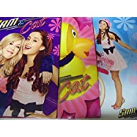 Staples Two Pocket Paper Folder ~ Set Of 3 Sam & Cat Folders (Sam & Cat, Rubber Ducky, Pink Bike)