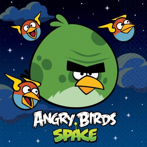 Angry Birds Space Luncheon 2-Ply Napkins (pack of 16) - 1