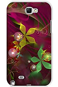 IndiaRangDe Case For Samsung Galaxy Note (Printed Back Cover)