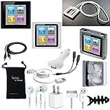 DigitalsOnDemand 14-Item Accessory Bundle for New Apple iPod Nano 6th Gen Generation 8GB 16GB
