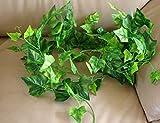 【Life Bank 】 お洒落 観葉植物 壁掛け インテリア アンティーク 雑貨 造花 人工 フェイク 壁掛 グリーン 緑 植物 吊り
