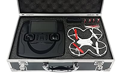 Carrying Case for Hubsan X4 FPV H107D Quadcopter by Red Rock