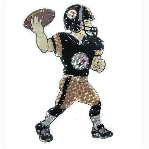"Amazon.com : Pittsburgh Steelers 44"" Animated Lawn Figure - NFL"