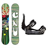 GNU Velvet Guru EC2BTX Ladies Snowboard and Binding Package 2014 by Gnu
