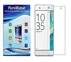 Yunikase Sony Xperia XA Ultra / Sony Xperia XA Ultra Dual Premium Tempered Glass screen Protector - (Transparent)