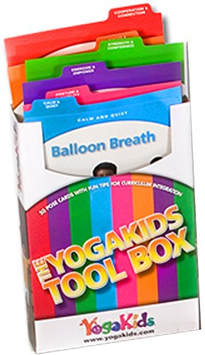 YogaKids Pose Card Tool Box - Tools for Schools (Yoga Kids Cards compare prices)