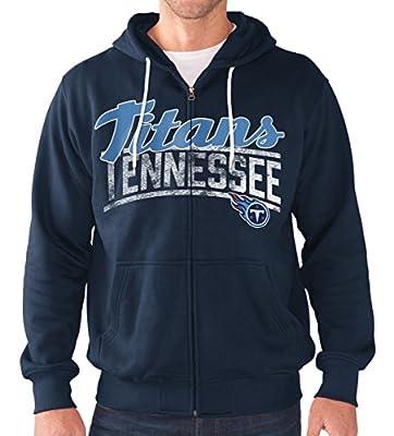 "Tennessee Titans NFL G-III ""Swingman"" Full Zip Hooded French Terry Sweatshirt"
