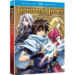 The Legend of the Legendary Heroes: Part 2 (Blu-ray / DVD Combo)