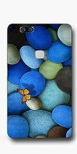 SEI HEI KI Designer Back Cover For Huawei Honor V8 - Multicolor