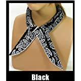 JellyBeadZ  NEW! Neck Cooling Scarf Wrap, Keep You Cool, Bandana, Black