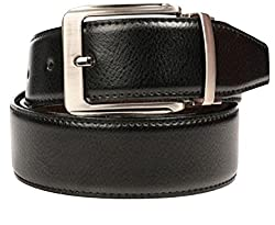 Reversible black-brown belt for men (ST0000980)