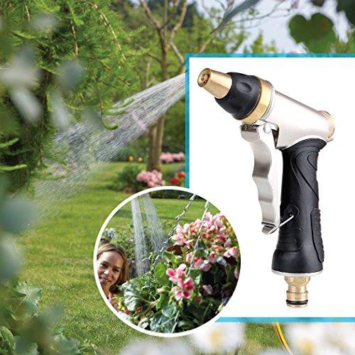 Crenova Garden Hose Metal Nozzle Sprayer High Pressure