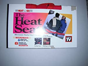 The Heat Seat Microwave Heated Seat Cushion