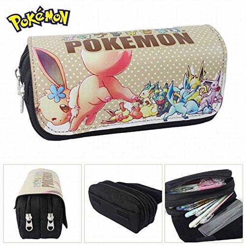 Estuches-Material-escolar-Portatodo-doble-Pokemon-Go